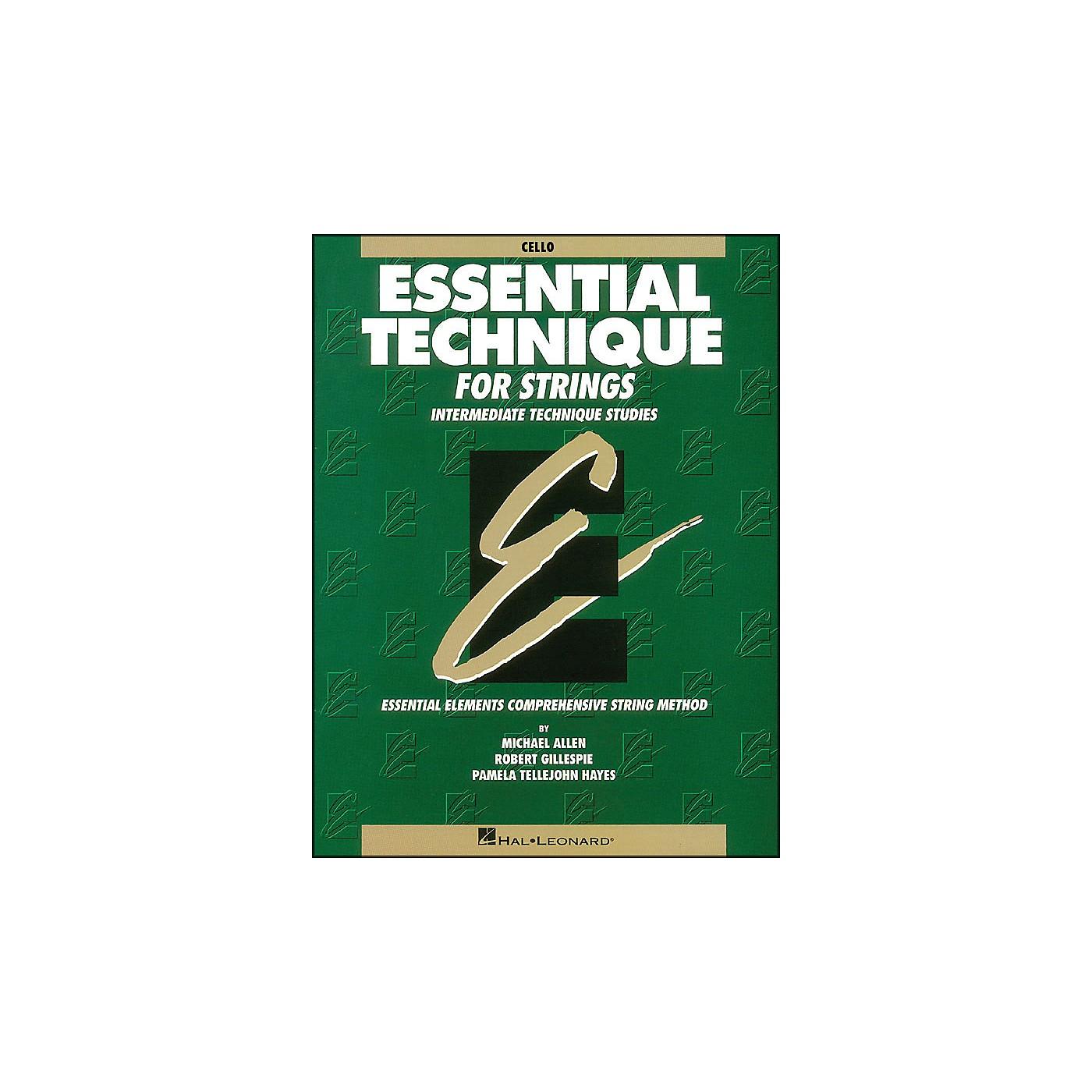 Hal Leonard Essential Technique for Strings Cello thumbnail