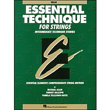 Hal Leonard Essential Technique for Strings Cello