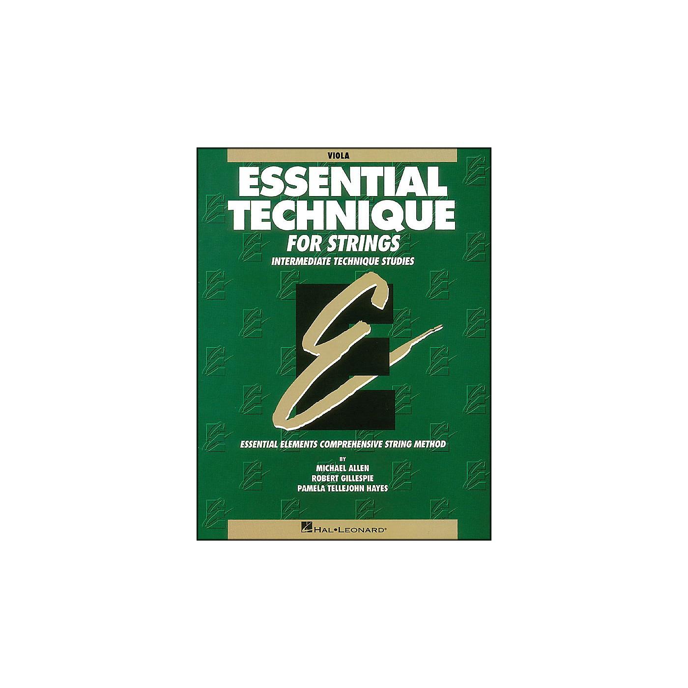 Hal Leonard Essential Technique for Strings Viola thumbnail