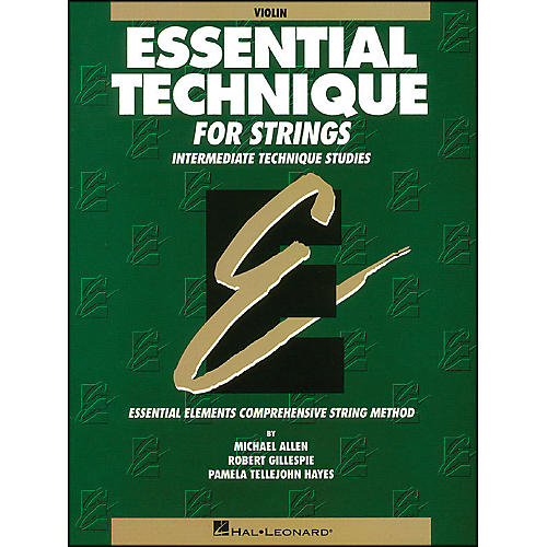 Hal Leonard Essential Technique for Strings Violin thumbnail
