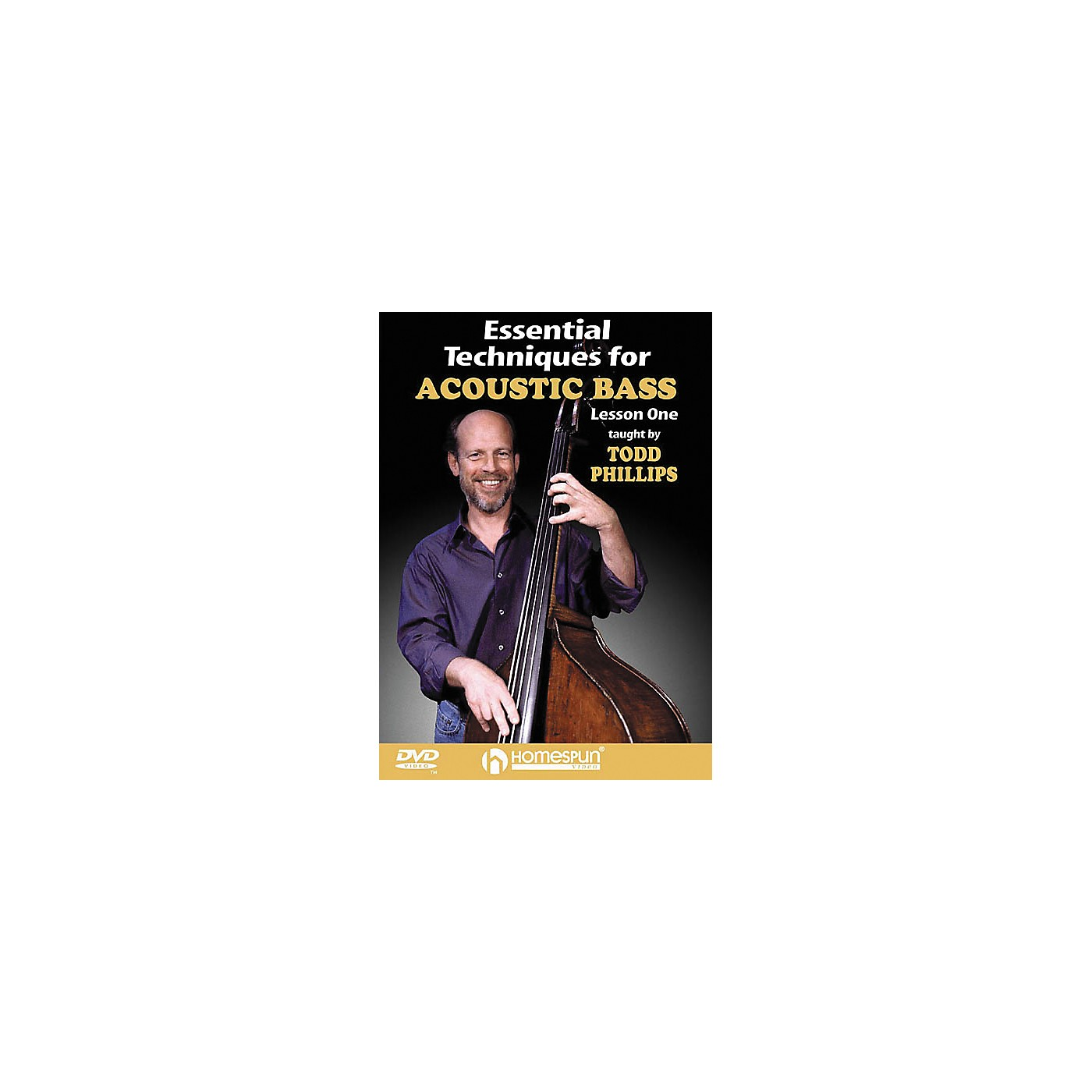 Homespun Essential Techniques for Acoustic Bass 2 (DVD) thumbnail