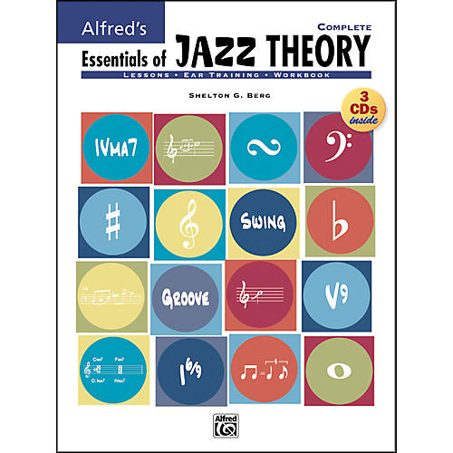 Alfred Essentials Of Jazz Theory Complete 1-3 Book/Cds thumbnail