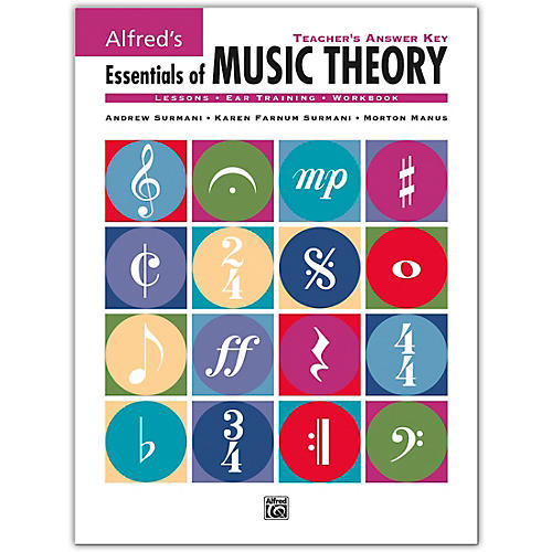 Alfred Essentials Of Music Theory Series Teacher's Answer Key thumbnail