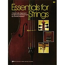 KJOS Essentials for Strings Cello Book
