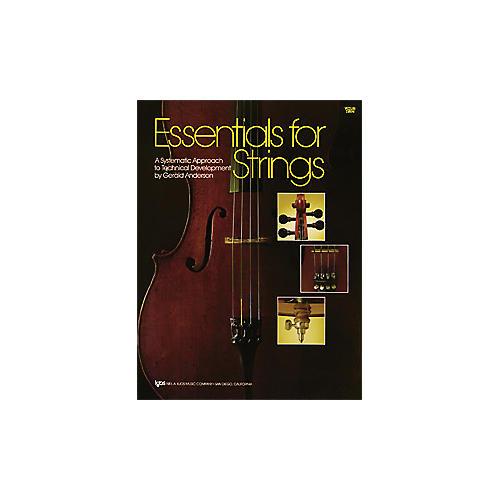 KJOS Essentials for Strings Violin Book thumbnail