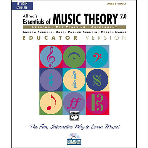 Alfred Essentials of Music Theory 2.0 Educator Version Complete (CD-ROM) thumbnail