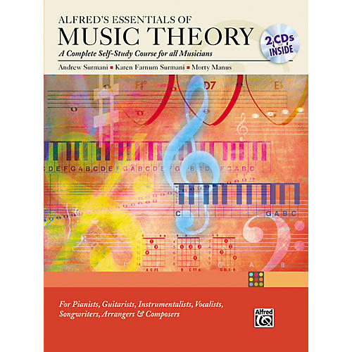 Alfred Essentials of Music Theory: Complete Self-Study Course (Book/2-CD) thumbnail