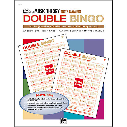 Alfred Essentials of Music Theory Double Bingo-thumbnail