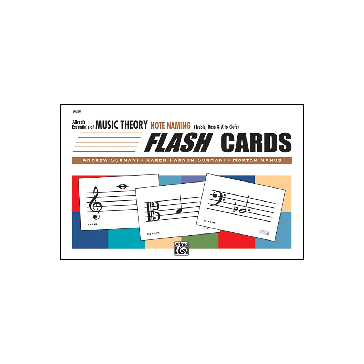 Alfred Essentials of Music Theory: Flash Cards - Note Naming thumbnail