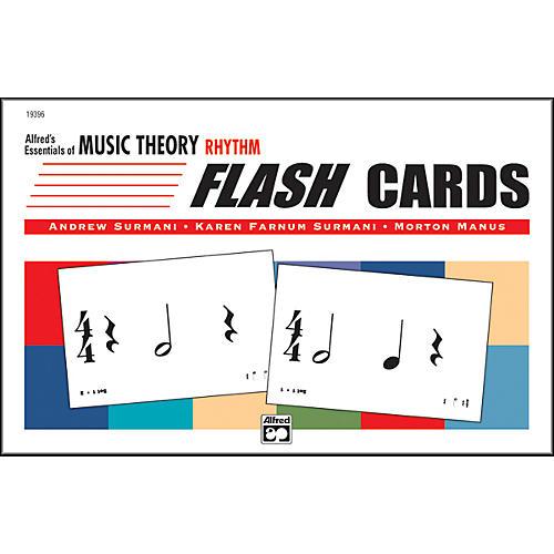 Alfred Essentials of Music Theory: Flash Cards Rhythm thumbnail