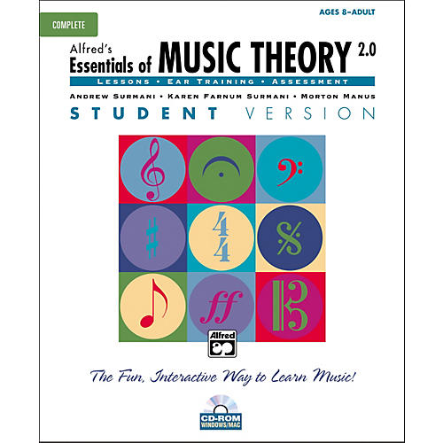 Alfred Essentials of Music Theory Student Version Complete (CD-ROM) thumbnail