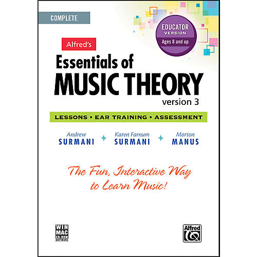 Alfred Essentials of Music Theory: Version 3 CD-ROM Educator Version Complete thumbnail
