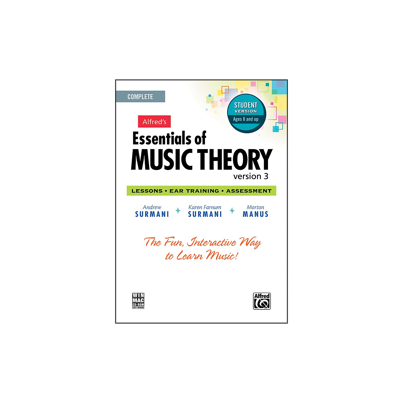 Alfred Essentials of Music Theory: Version 3 CD-ROM Student Version Complete thumbnail