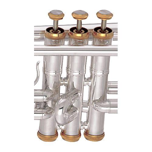 Getzen Eterna / Capri / 300 Series Gold Trumpet Trim Kit thumbnail