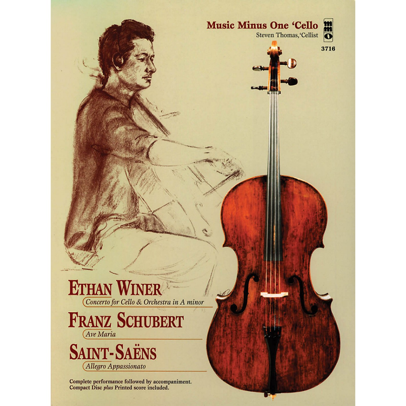 Music Minus One Ethan Winer, Franz Schubert, and Saint-Saëns Music Minus One Series Softcover with CD Composed by Various thumbnail