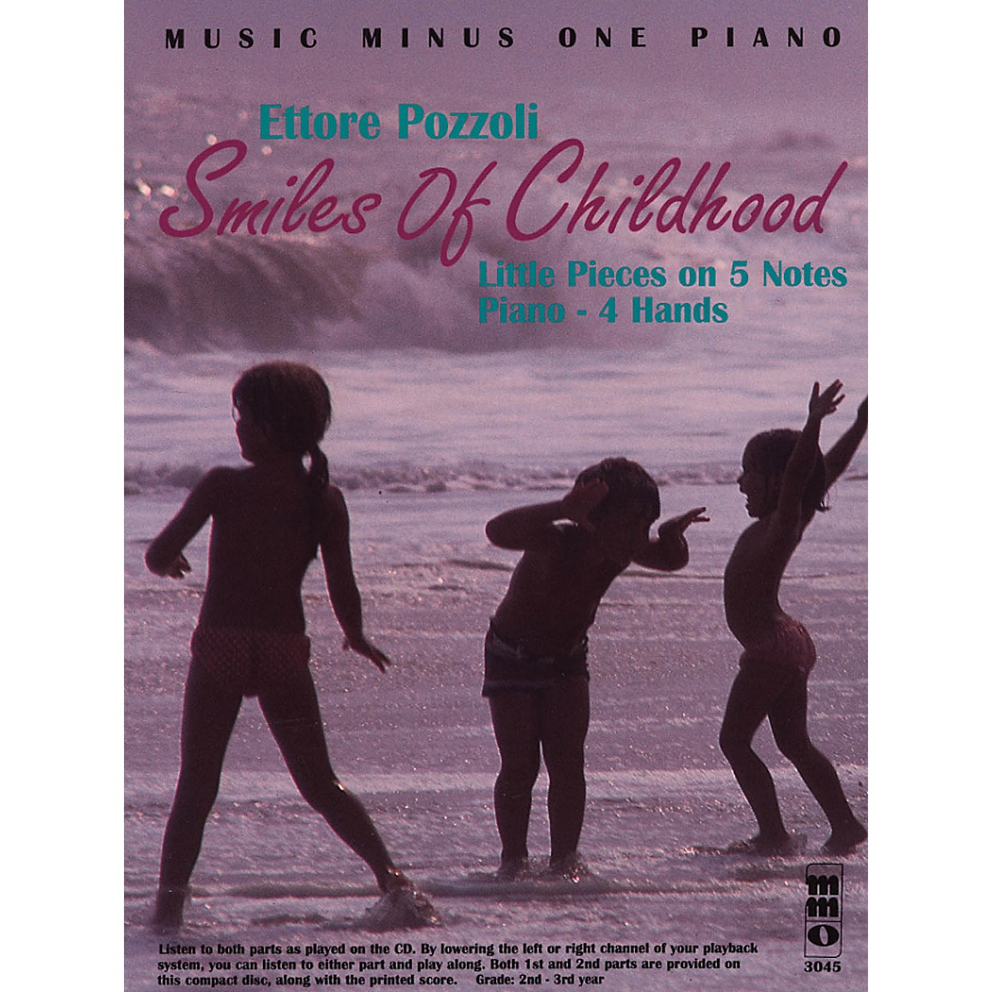 Music Minus One Ettore Pozzoli - Smiles of Childhood Music Minus One Series Softcover with CD thumbnail