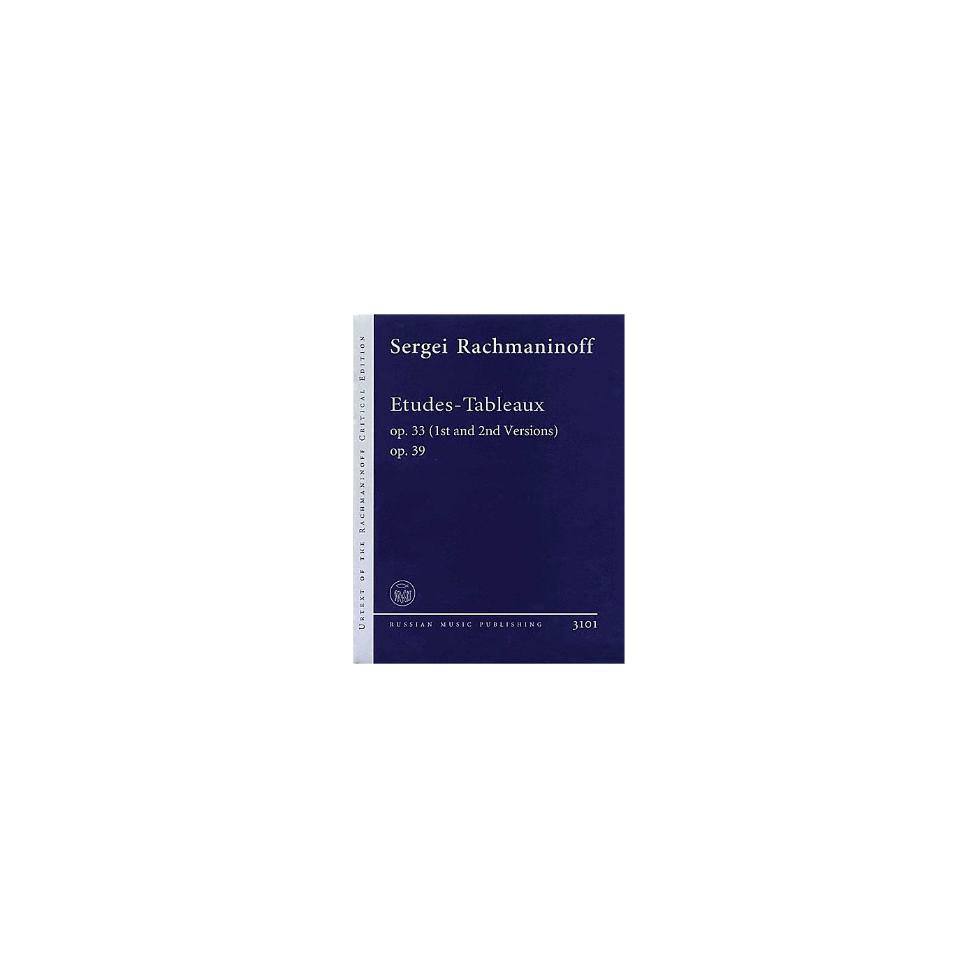 Russian Music Publishing/Boosey & Hawkes Etudes-Tableaux Op. 33 (1st and 2nd Versions), Op. 39 Misc Series Softcover by Sergei Rachmaninoff thumbnail