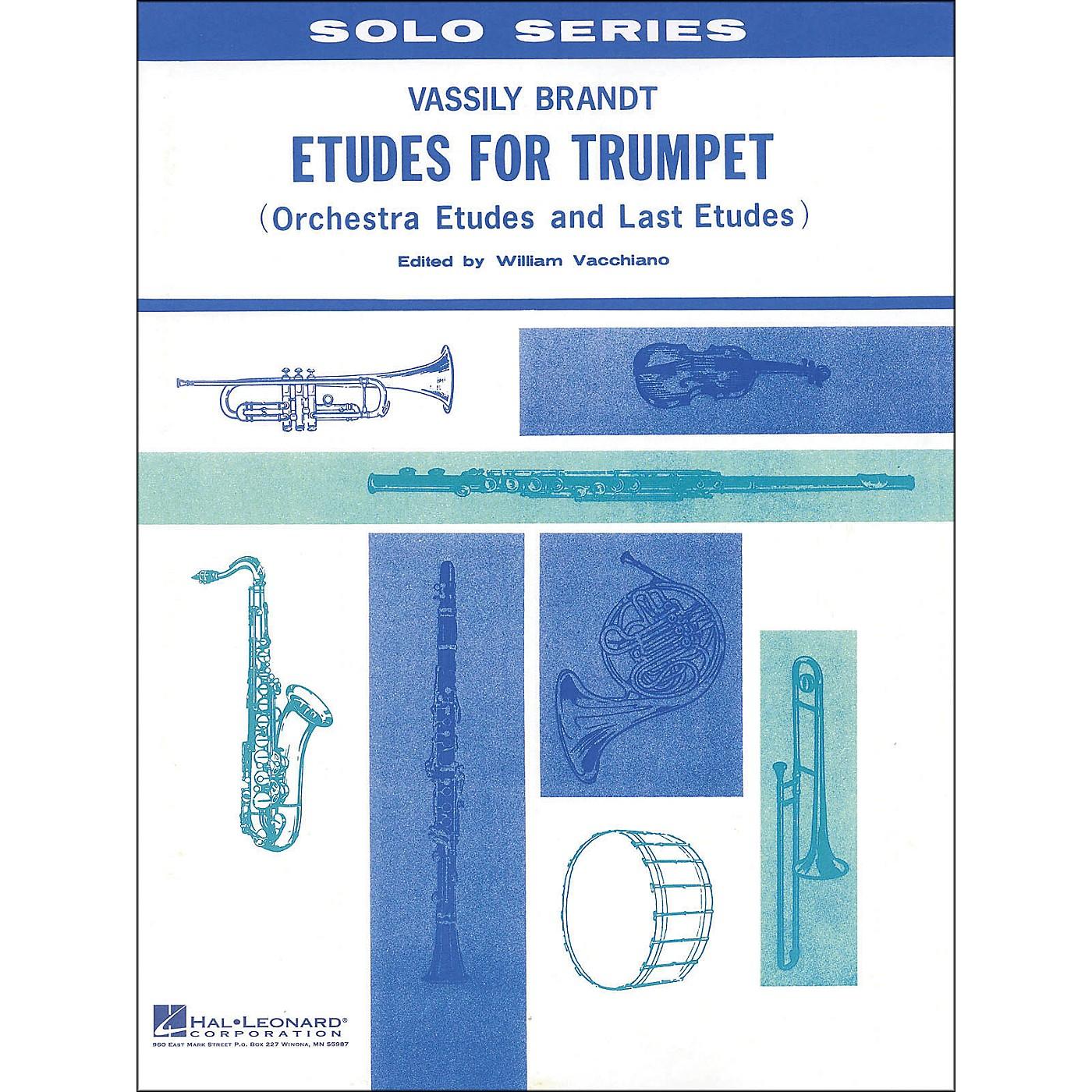 Hal Leonard Etudes for Trumpet thumbnail
