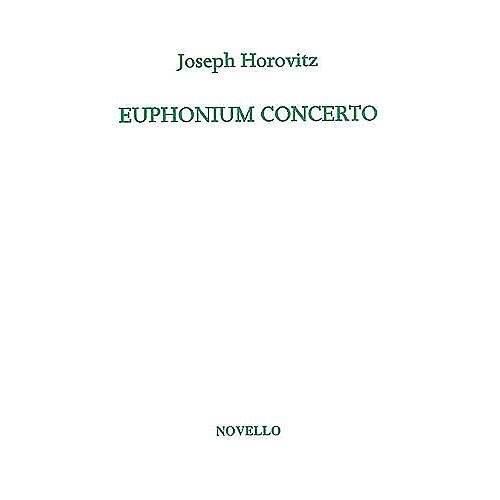 Novello Euphonium Concerto (for Euphonium and Piano) Music Sales America Series Softcover thumbnail