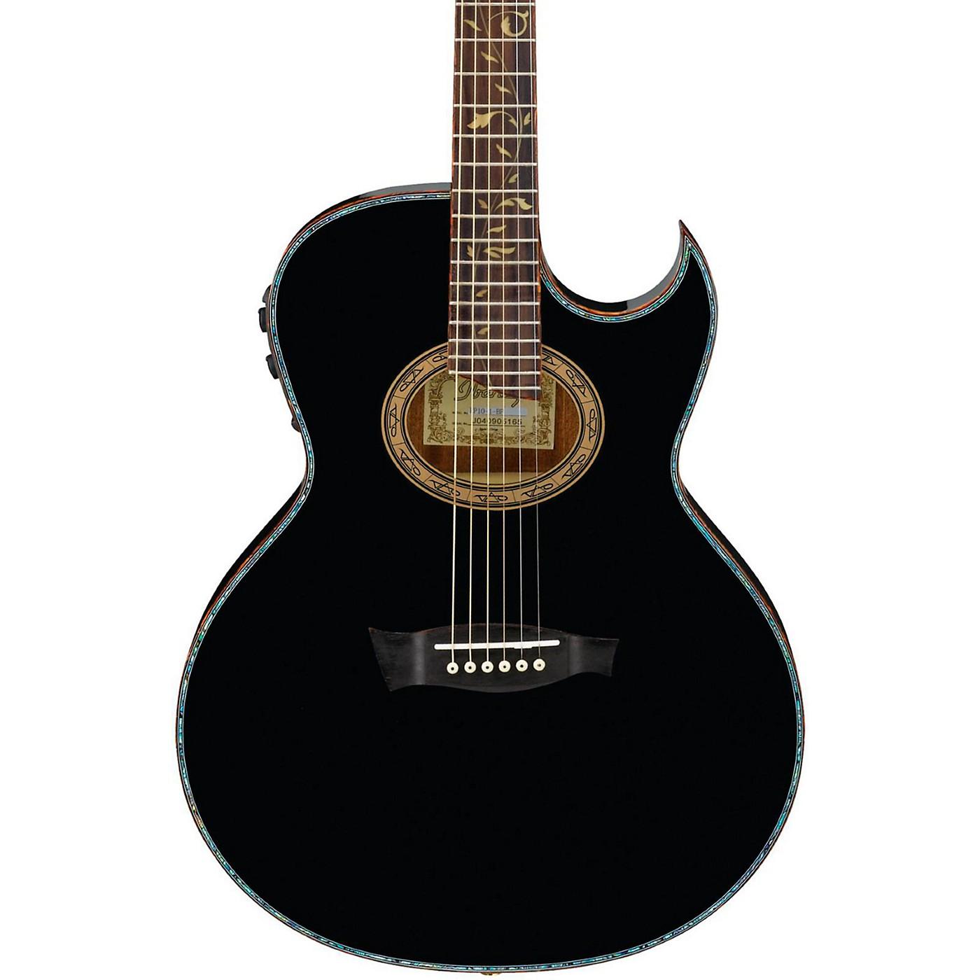 Ibanez Euphoria Steve Vai All Solid Wood Signature Acoustic-Electric Guitar thumbnail