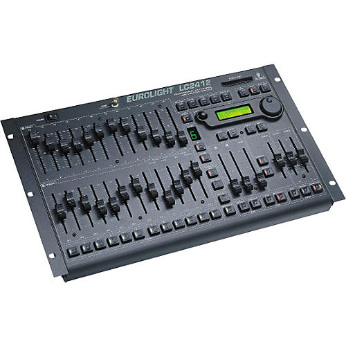 Behringer Eurolight LC2412 24-Channel DMX Lighting Console thumbnail