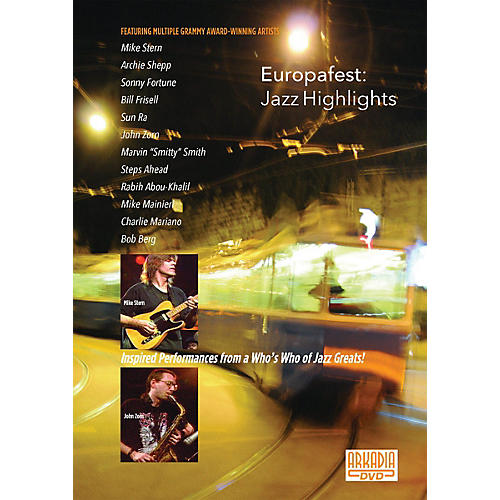 Hal Leonard Europafest - Jazz Highlights Live/DVD Series DVD Performed by Various thumbnail