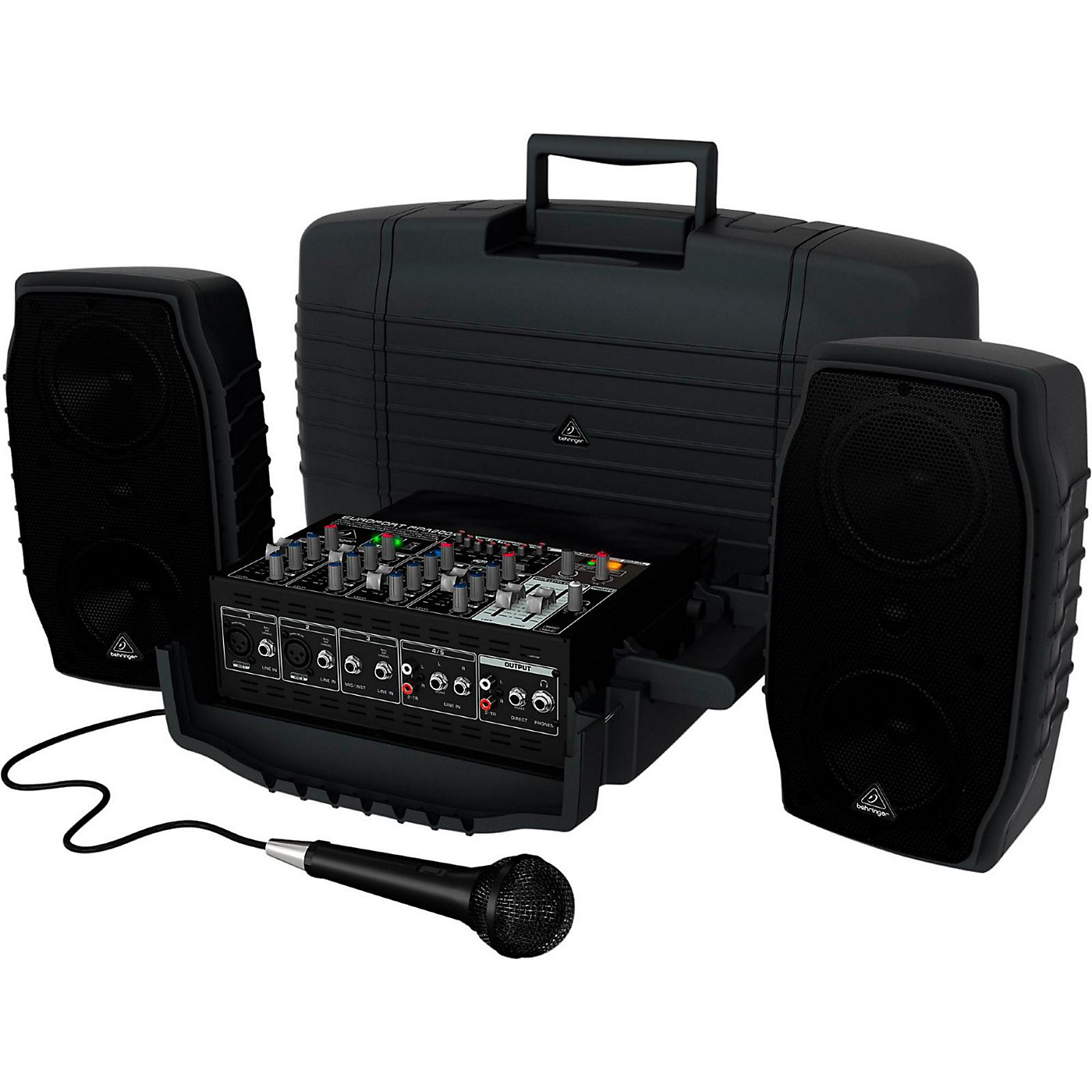 Behringer Europort PPA200 Portable PA System thumbnail