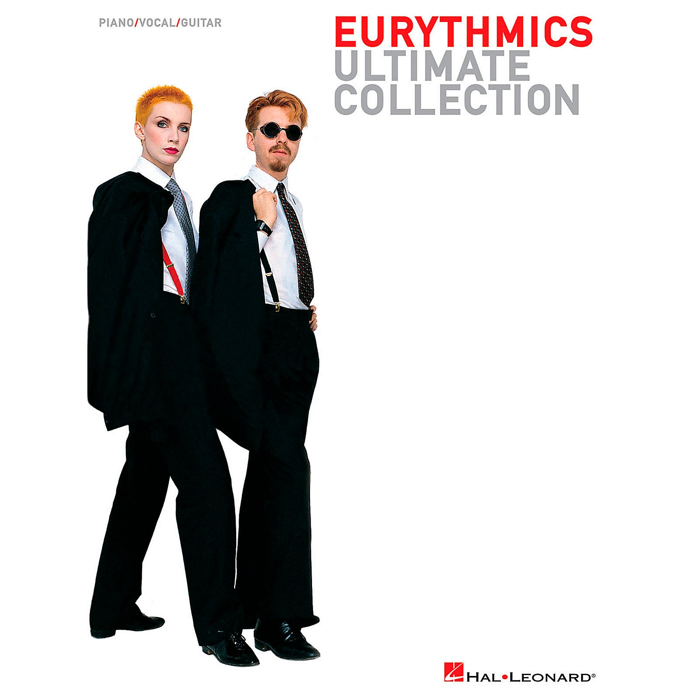 Hal Leonard Eurythmics - Ultimate Collection Songbook for Piano/Vocal/Guitar thumbnail