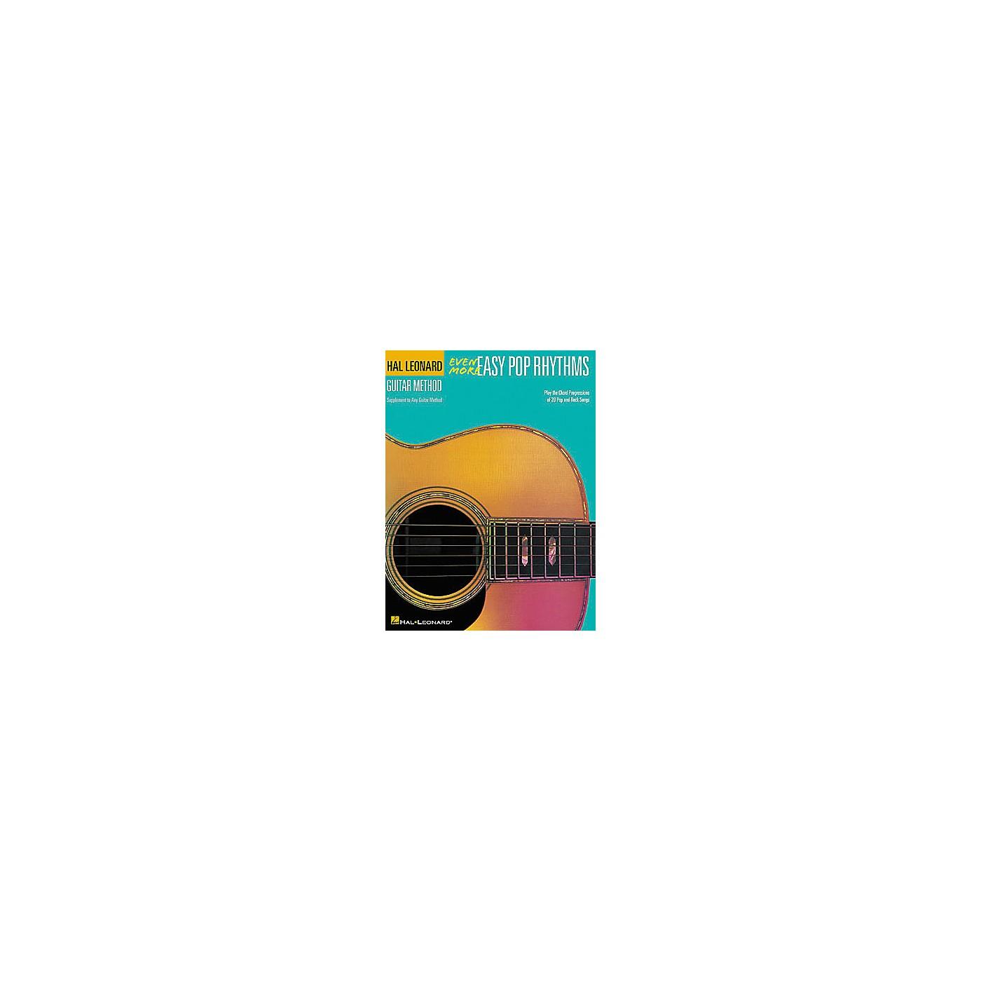 Hal Leonard Even More Easy Pop Rhythms - 2nd Edition Book thumbnail