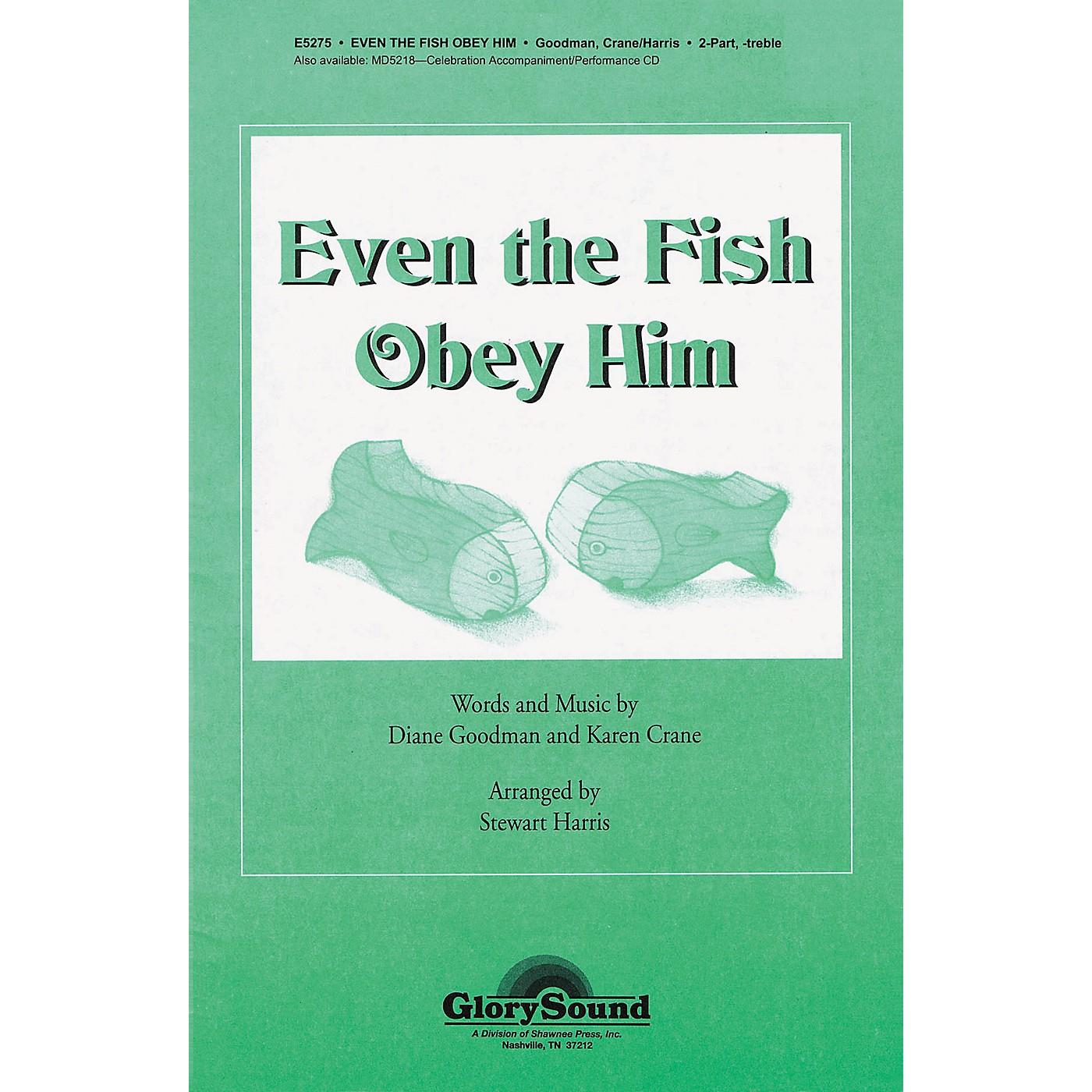 Shawnee Press Even the Fish Obey Him 2PT TREBLE arranged by Stewart Harris thumbnail