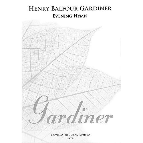 Novello Evening Hymn (SATB and Organ) SATB Composed by Henry Balfour Gardiner thumbnail