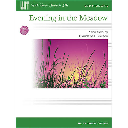 Willis Music Evening In The Meadow - Early Intermediate Piano Solo by Claudette Hudelson thumbnail