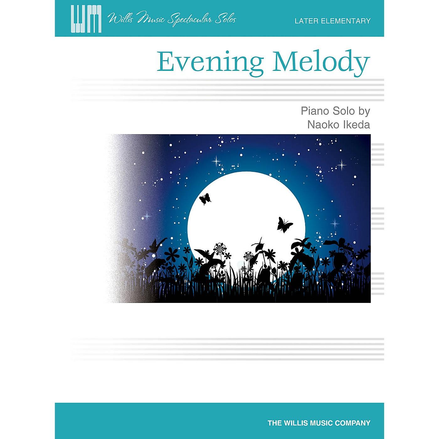 Willis Music Evening Melody (Later Elem Level) Willis Series by Naoko Ikeda thumbnail