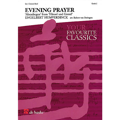 Hal Leonard Evening Prayer From Hansel Und Gretel Concert Band thumbnail