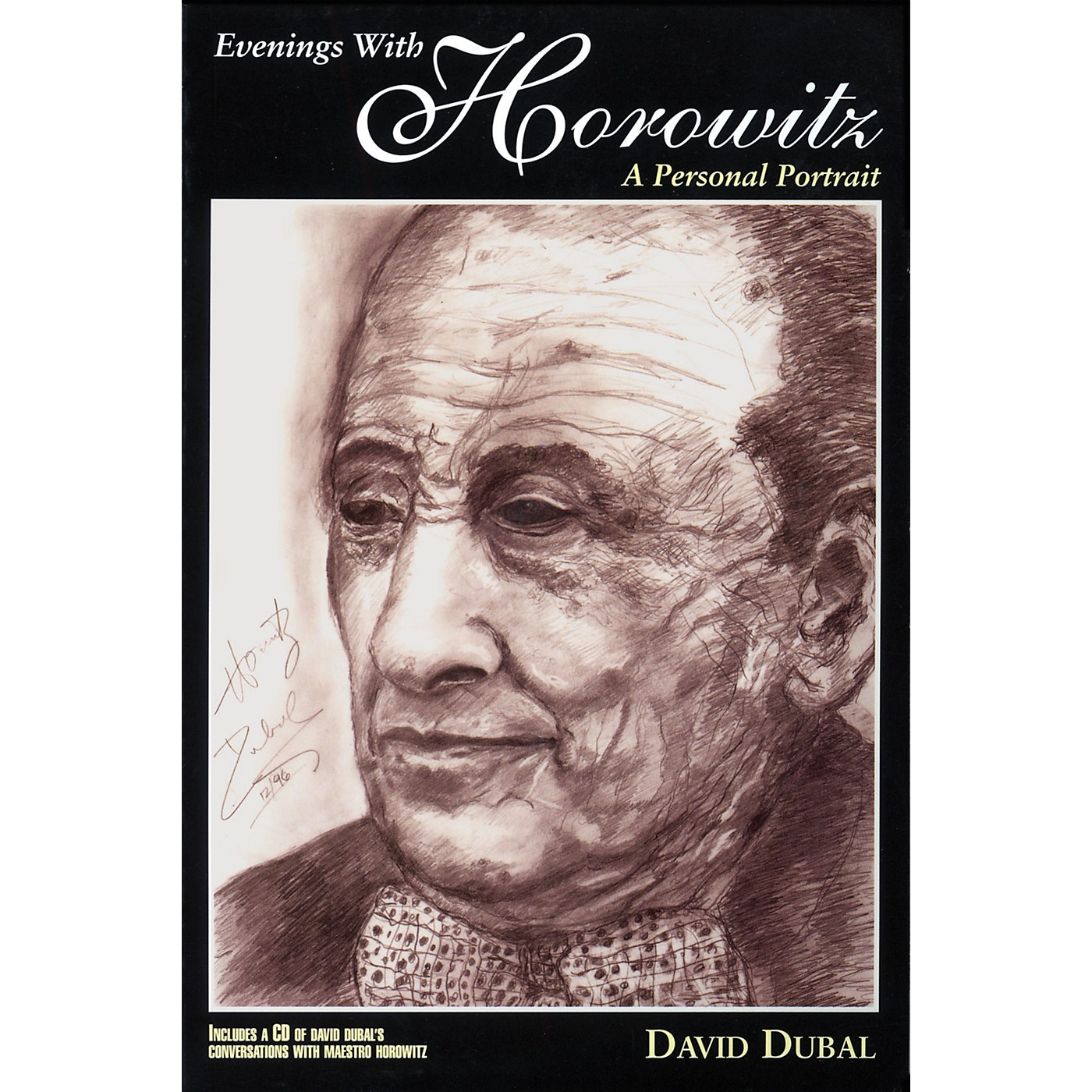 Amadeus Press Evenings with Horowitz (A Personal Portrait) Book Series Softcover with CD Written by David Dubal thumbnail