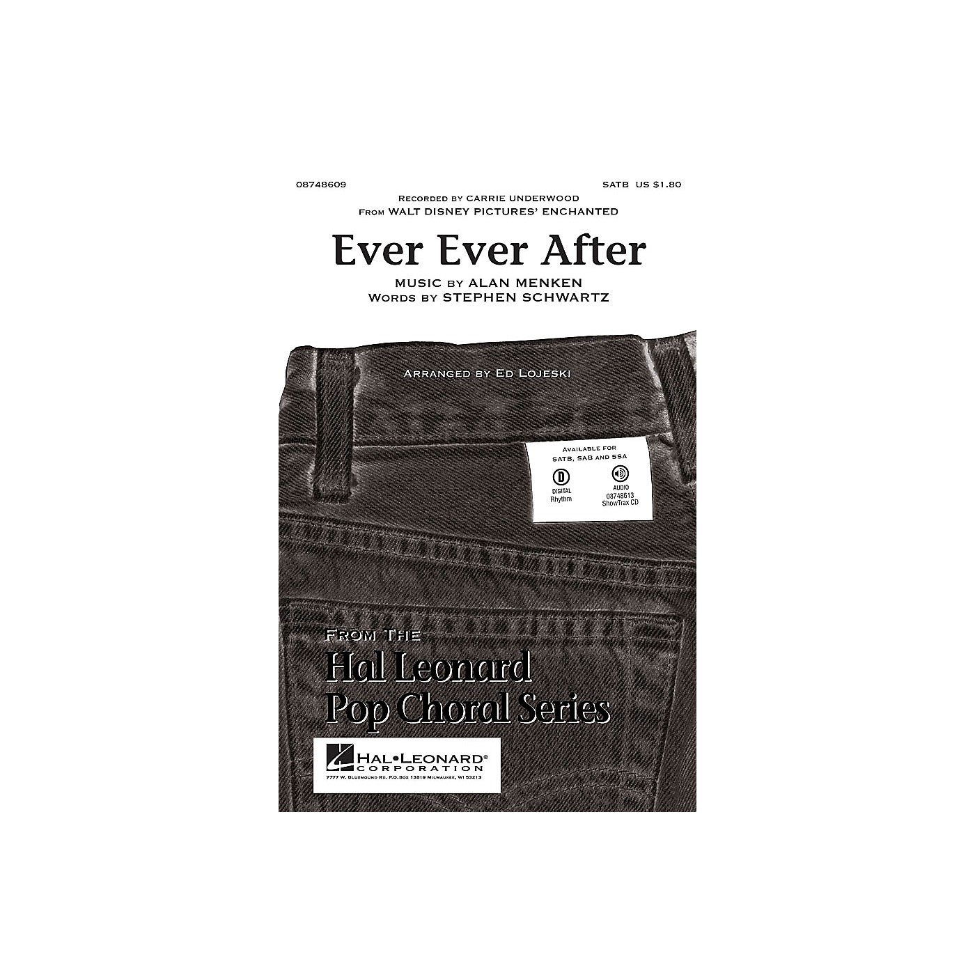 Hal Leonard Ever Ever After (From Enchanted) SSA by Carrie Underwood Arranged by Ed Lojeski thumbnail