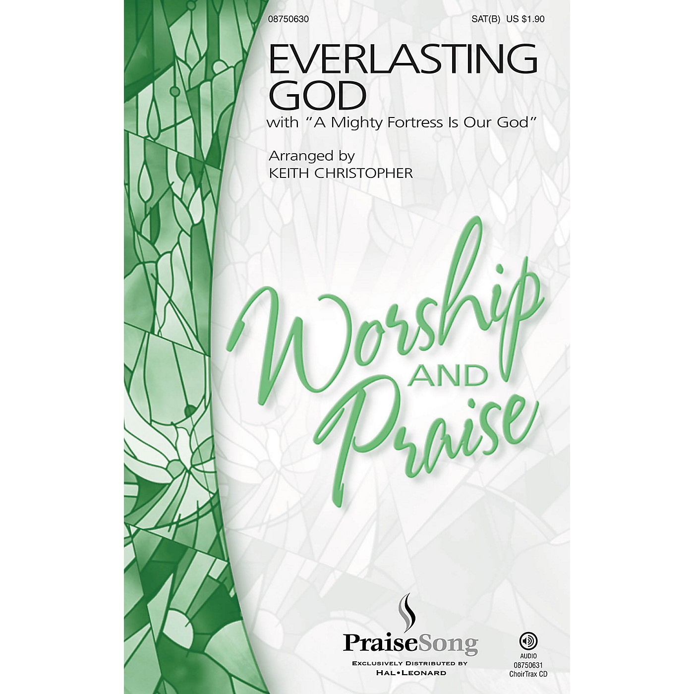 PraiseSong Everlasting God CHOIRTRAX CD by Chris Tomlin Arranged by Keith Christopher thumbnail