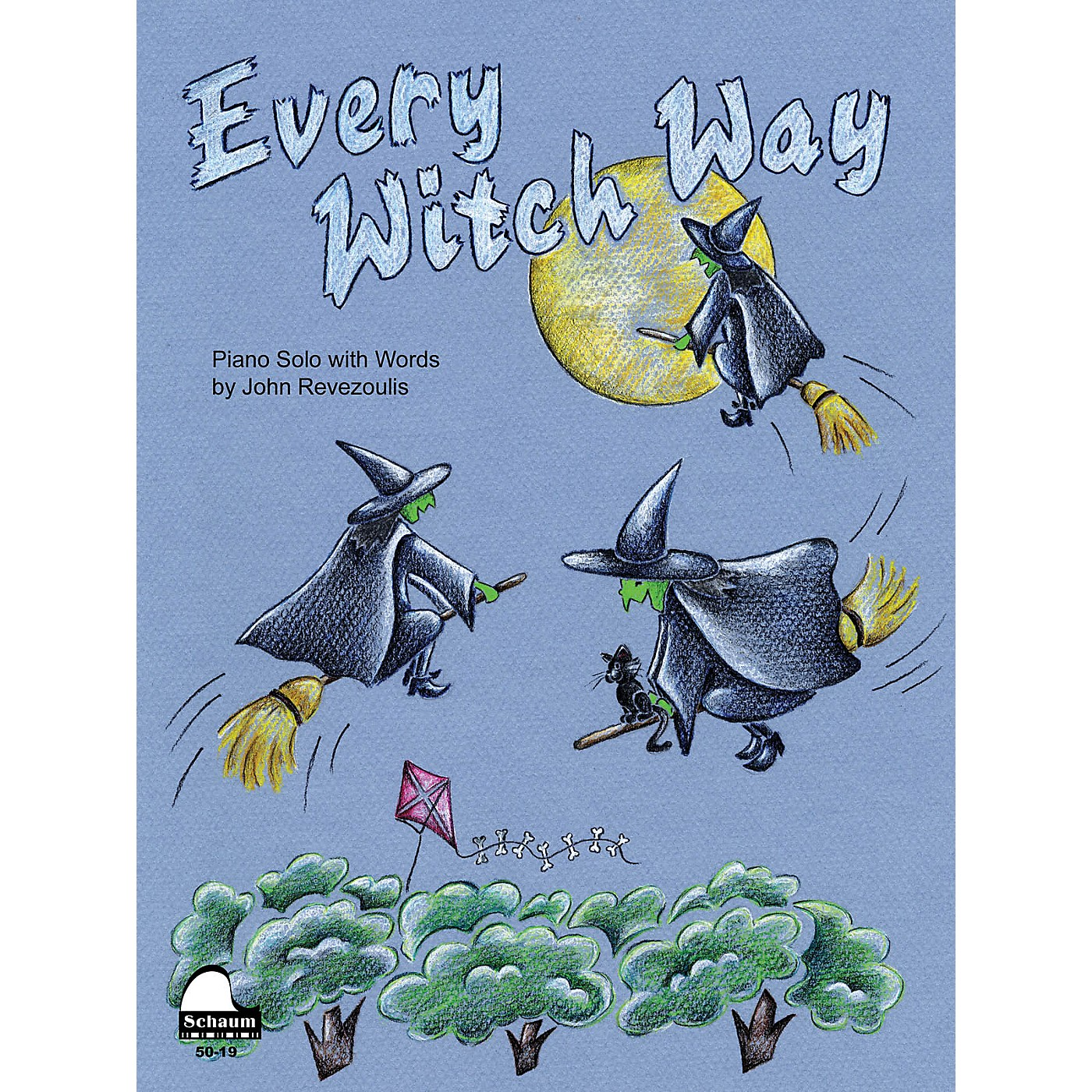 SCHAUM Every Witch Way Educational Piano Series Softcover thumbnail