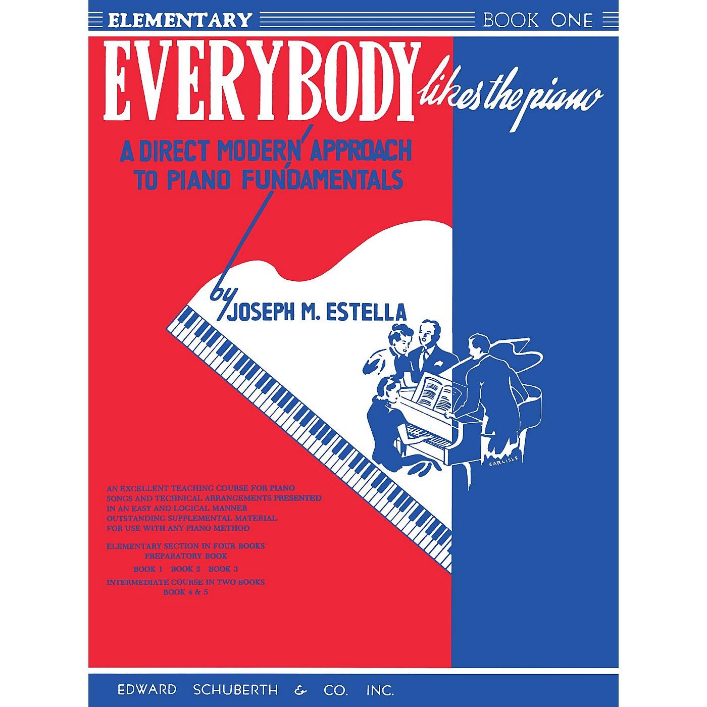 Ashley Publications Inc. Everybody Likes the Piano Ashley Publications Series Written by Joseph M. Estella thumbnail