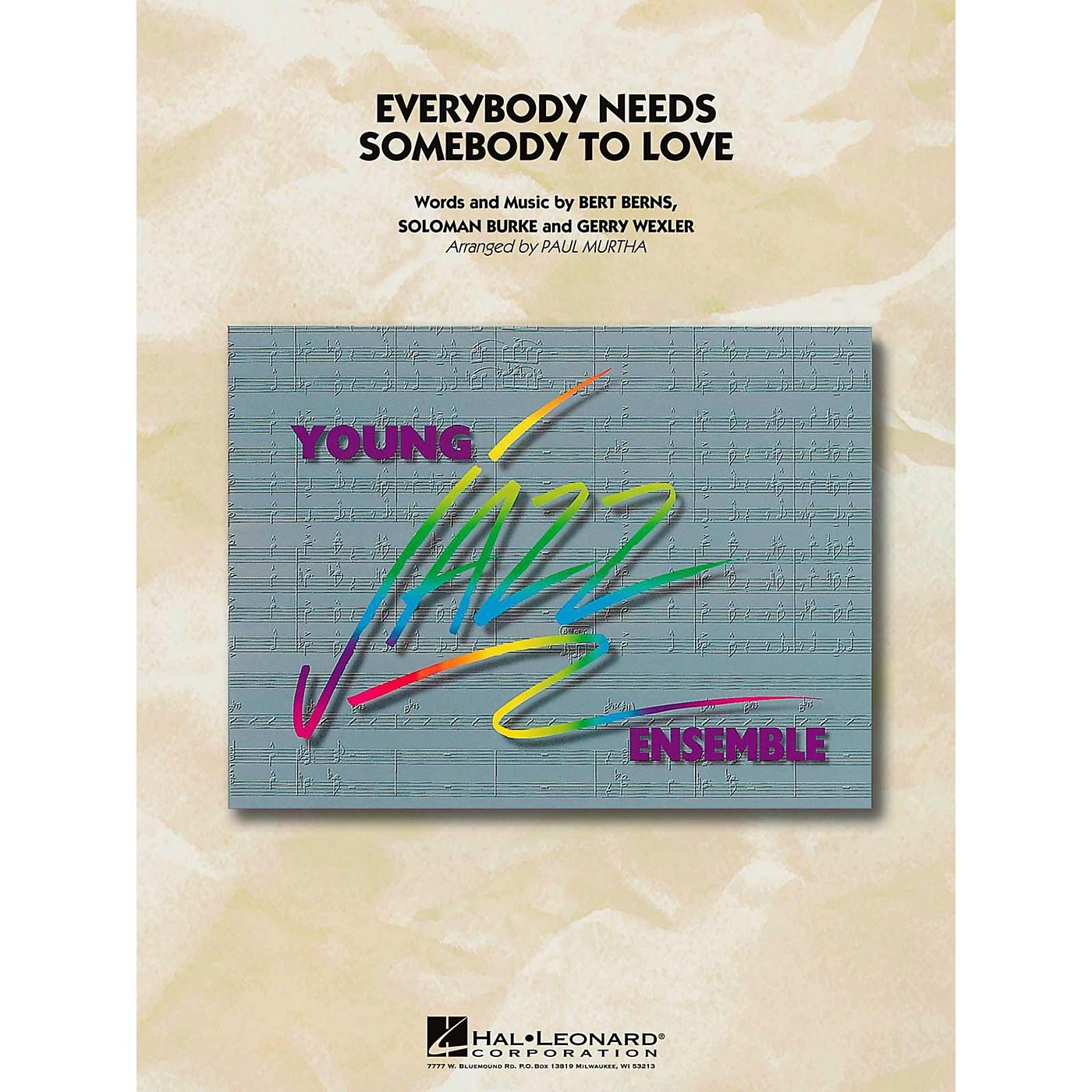 Hal Leonard Everybody Needs Somebody To Love Jazz Band Level 3 thumbnail