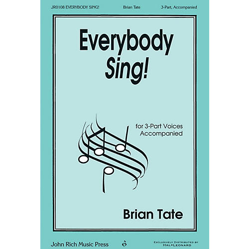 John Rich Music Press Everybody Sing! 3 Part Treble composed by Brian Tate thumbnail