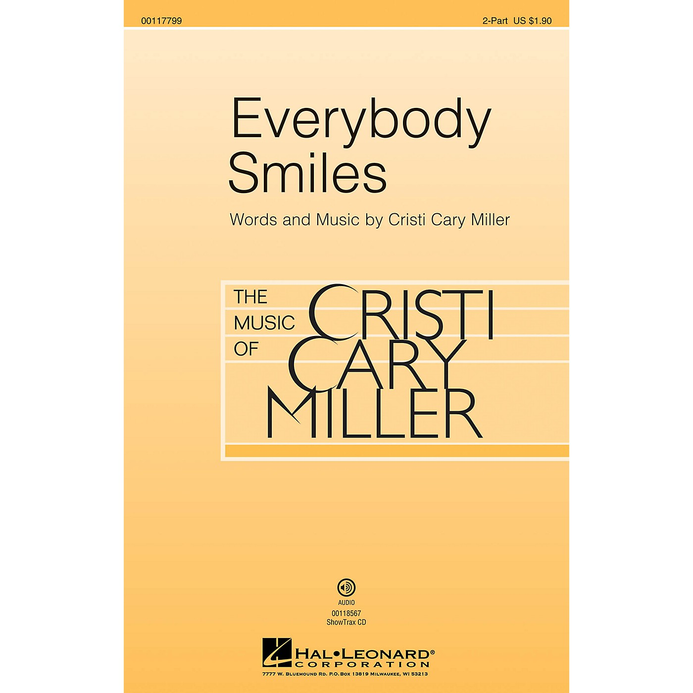 Hal Leonard Everybody Smiles ShowTrax CD Composed by Cristi Cary Miller thumbnail