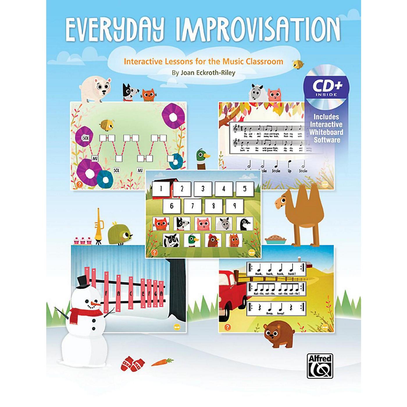 Alfred Everyday Improvisation Book & CD thumbnail