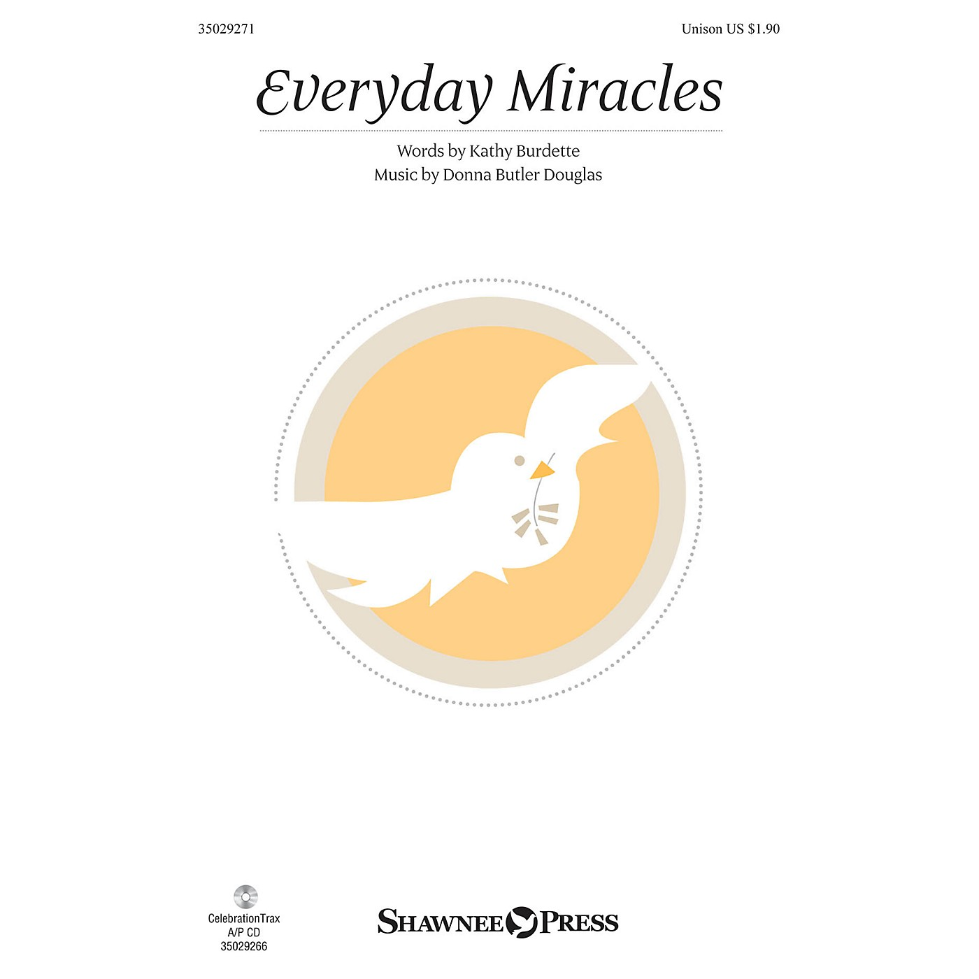 Shawnee Press Everyday Miracles UNIS composed by Donna Butler Douglas thumbnail