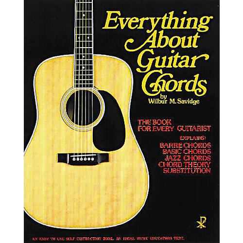 Everything About Guitar Chords Music Sales America Series Softcover ...
