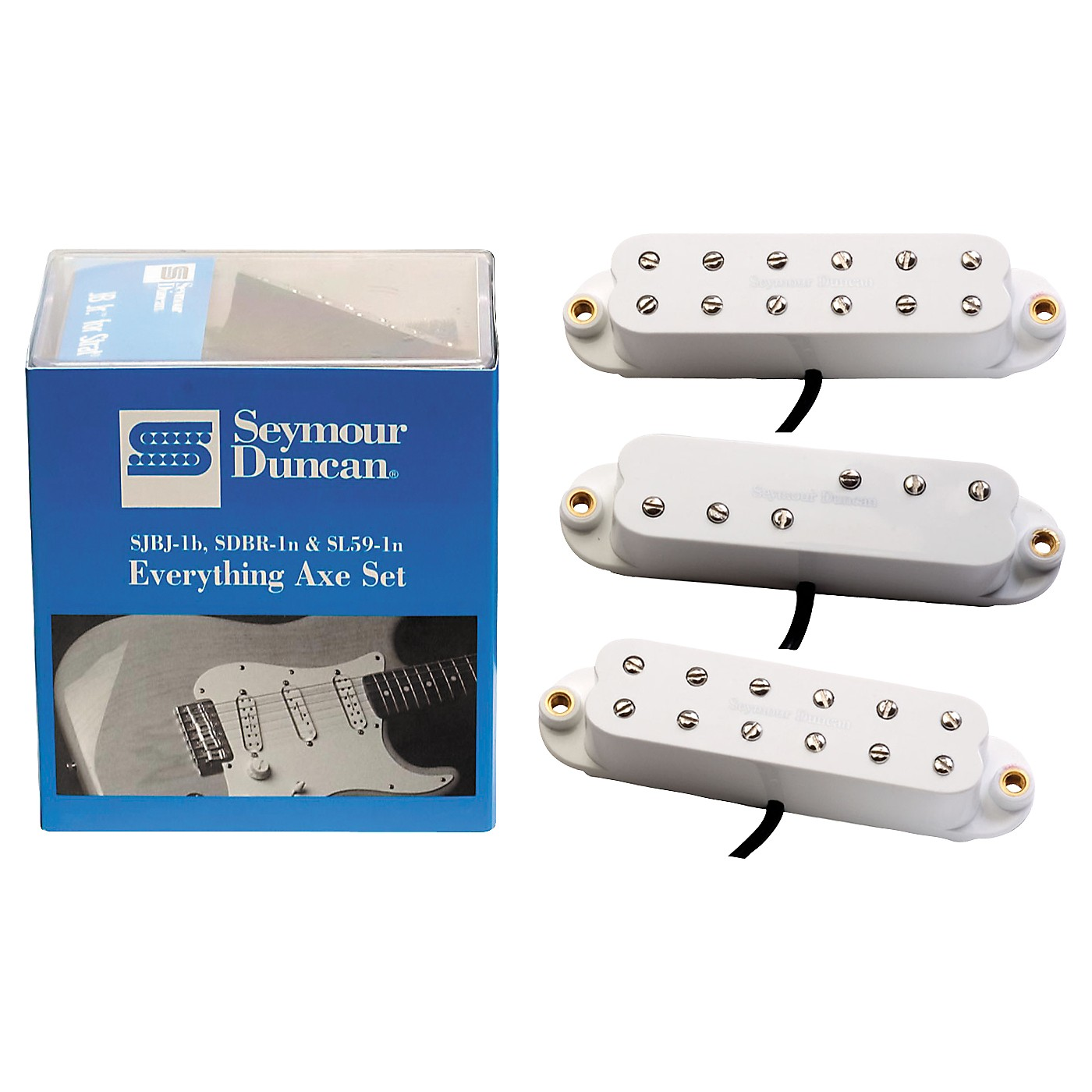 Seymour Duncan Everything Axe Single-Coil Electric Guitar Pickup Set thumbnail