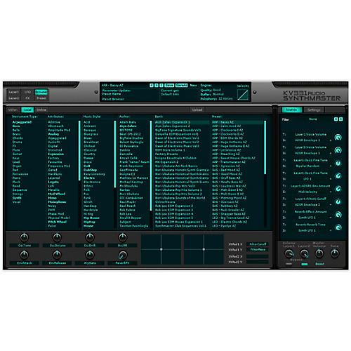 KV331 Audio Everything Bundle Upgrade From SynthMaster One thumbnail