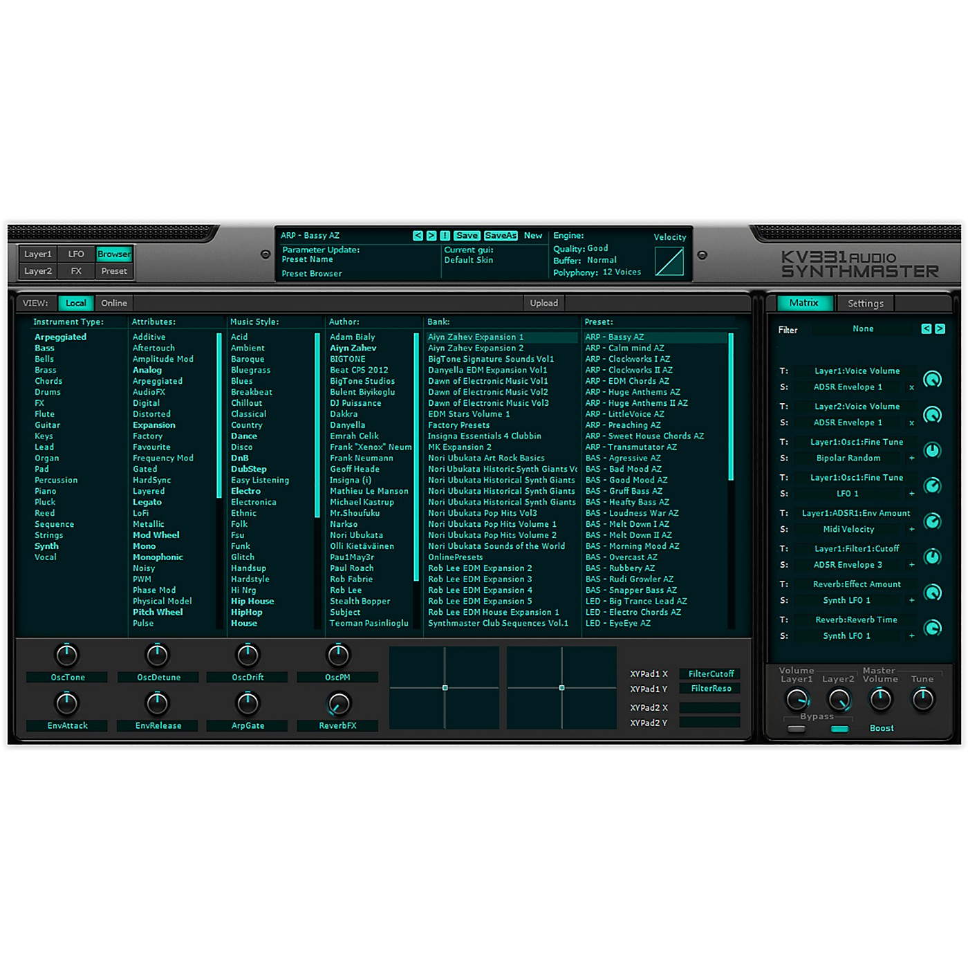 KV331 Audio Everything Bundle Upgrade From SynthMaster Player thumbnail
