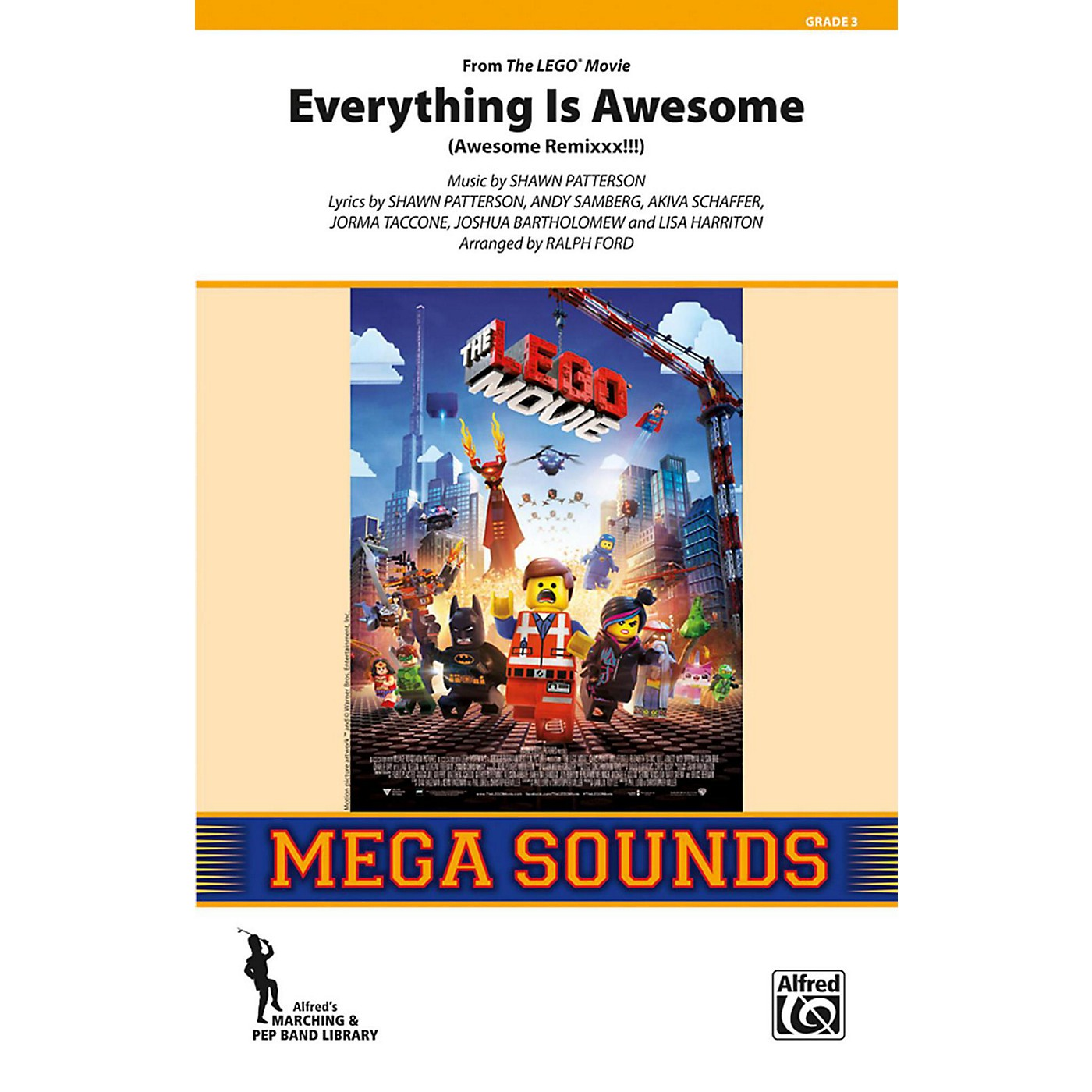 Alfred Everything Is Awesome (from The Lego Movie) Grade 3 (Medium) thumbnail