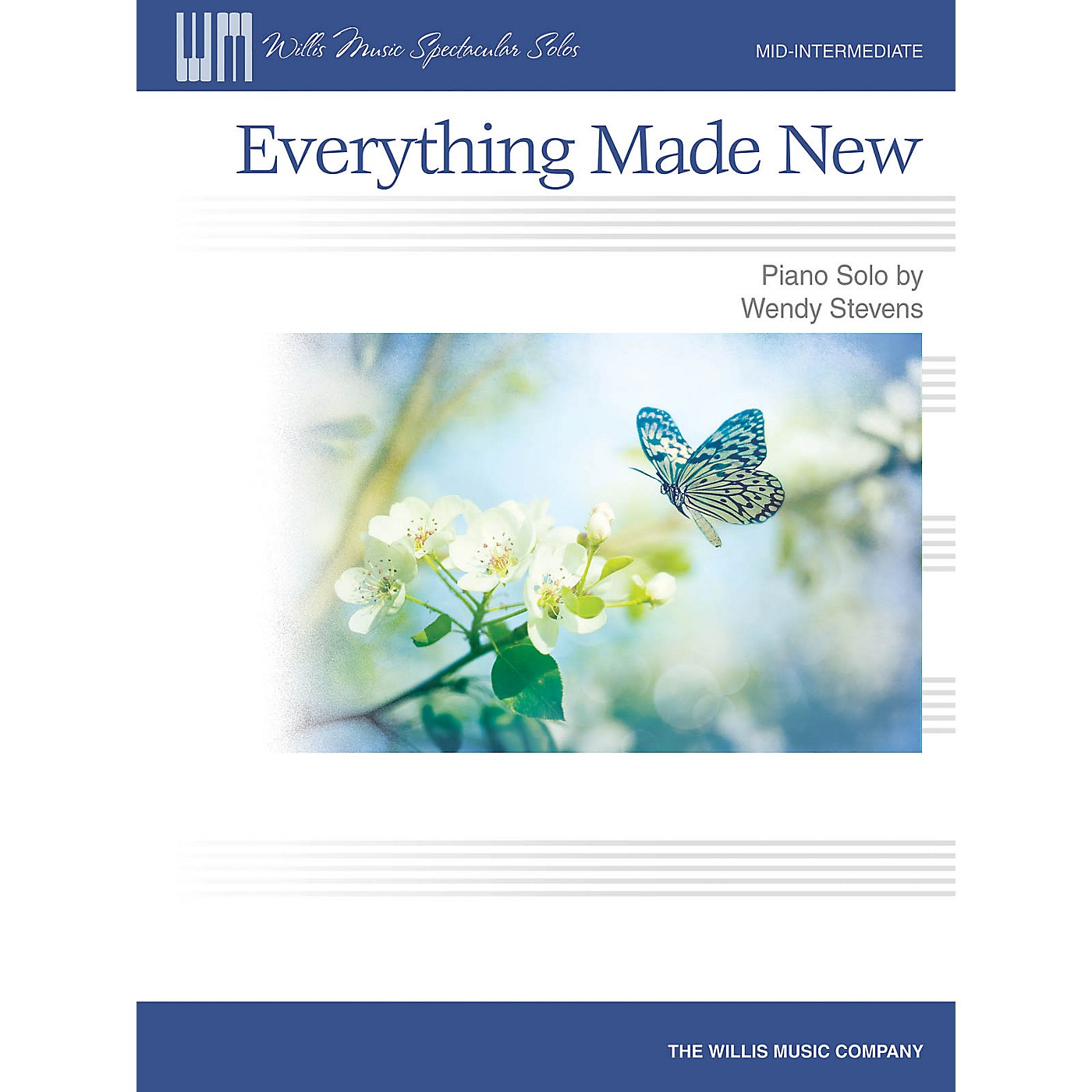 Willis Music Everything Made New (Mid-Inter Level) Willis Series Book by Wendy Stevens thumbnail